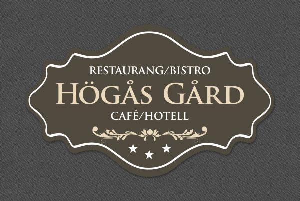 Högås Gård Café, Bistro/Restaurang och Hotell